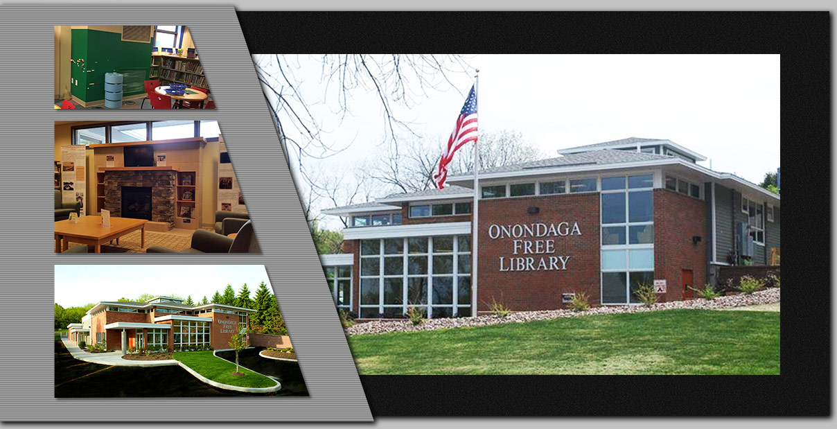 Project Portfolio Onondaga Free Library from Schopfer Architects