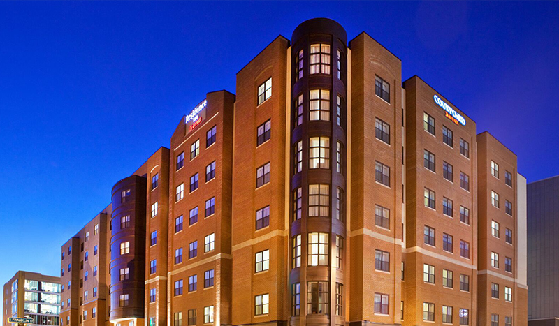Project Portfolio Marriott Inns at Armory Square from Schopfer Architects