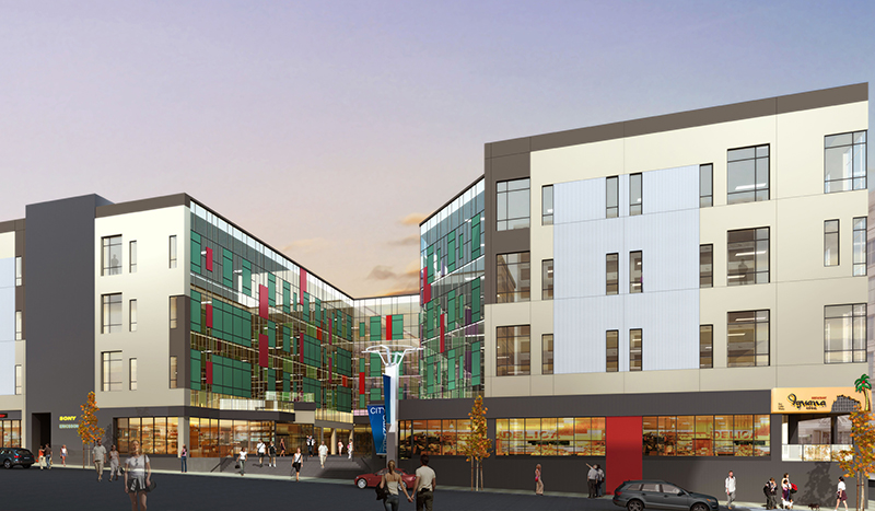 Project Portfolio City Center at Armory Square from Schopfer Architects